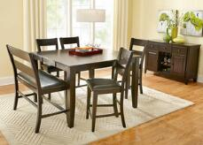 Nicki 5 Pc. Counter Height Dinette