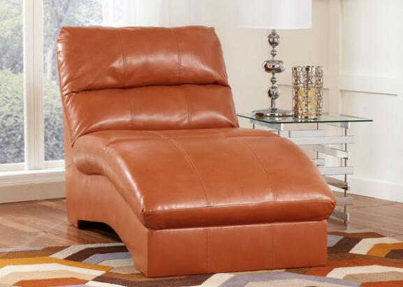 The roomplace furniture stores serving greater chicago for Chaise orange